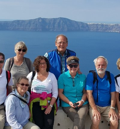 Virtual Team Building in Santorini
