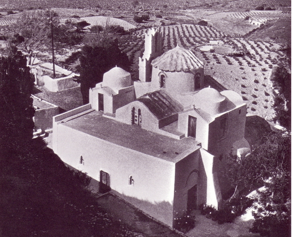 Panagia Episkopi, the oldest church in Santorini